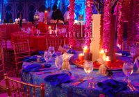 Bollywood Indian Theme Party At The Doral Resort Flowers ..