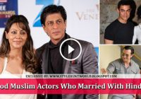 Bollywood Muslim Actors Who Married With Hindu Wives – hindu muslim marriage in bollywood