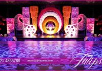 Bollywood night Mehendi Theme Stage decoration ideas in ..