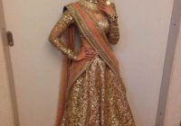 Bollywood Replica-Designer Gorgeous Gold Shimmer Net ..