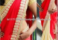 Bollywood Replica Red Designer Saree – Indian Saree Names ..