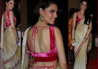 Bollywood Sarees at Suraj Godambe Wedding | Wedding saree ..