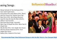 Bollywood songs for Wedding – list of bollywood marriage songs