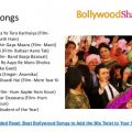 Bollywood songs for Wedding – top bollywood marriage songs