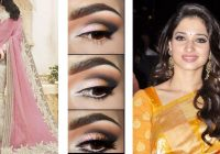 Bollywood Style Saree Draping with Makeup and Party ..