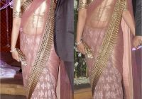 Bollywood Style Sonali Bendre Net saree in Pink colour ..