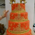 bollywood style wedding cakes – Google Search | Bake Me A ..
