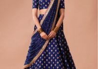 Bollywood Style – Wedding Wear Blue Lehenga Choli – S605 – bollywood wedding wear