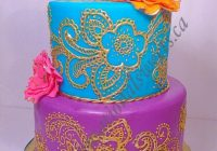Bollywood theme baby shower cake | Sensationalsweets.ca ..