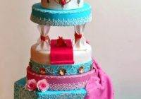 Bollywood wedding cake – cake by Ashwini Sarabhai – CakesDecor – bollywood wedding cake