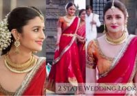 Bollywood Wedding Look – elaborate look for bollywood wedding