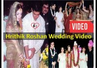 Bollywood WEDDING video.Hrithik and Suzanne khan Roshan ..