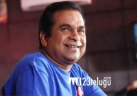 Brahmanandam's touching gesture for young comedian ..