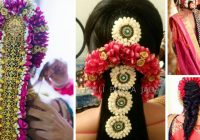 Bridal Hairstyle Kondai | Fade Haircut – indian bridal kondai