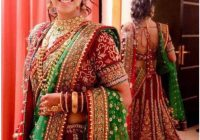 Bridal Lehengas In Red And Green | www.pixshark.com ..