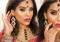 Bright Bollywood Party Makeup & Flawless Skin Tutorial ..