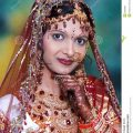 Bright Indian Bride. stock photo. Image of looks, indian ..
