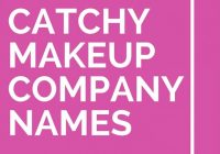 Catchy Names For Makeup Artist Business – Makeup Vidalondon – bollywood makeup artist name list