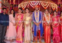 Celebs At Tollywood Actor Samrat Wedding Photos – tollywood actress wedding photos