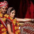 Chicago Bollywood Indian Wedding Couple poses for ..