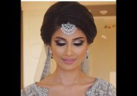 classic indian bridal updo – YouTube – indian bridal updo hairstyles