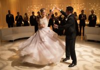 Couples Photos – First Dance in Performing Arts Center ..