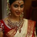 cute genelia in traditional saree and bridal makeup | Cute ..