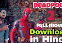Deadpool 2 Full Hindi Dubbed Movie Download Filmywap ..