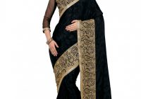 Decent Black And Golden Colored Bollywood Designer Party ..
