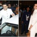 Deepika Padukone and Ranveer Singh leave for their ..