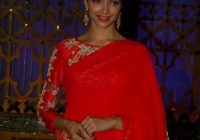 Deepika Padukone Photos In Designer Red Saree – Kollywood ..
