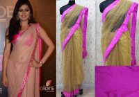 Dhrishti Dhami Golden Saree – Online Shopping For Designer ..