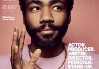 Donald Glover covers August Edition of The Hollywood ..