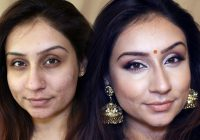 Drugstore Indian Bollywood Party Makeup Brown skin makeup ..
