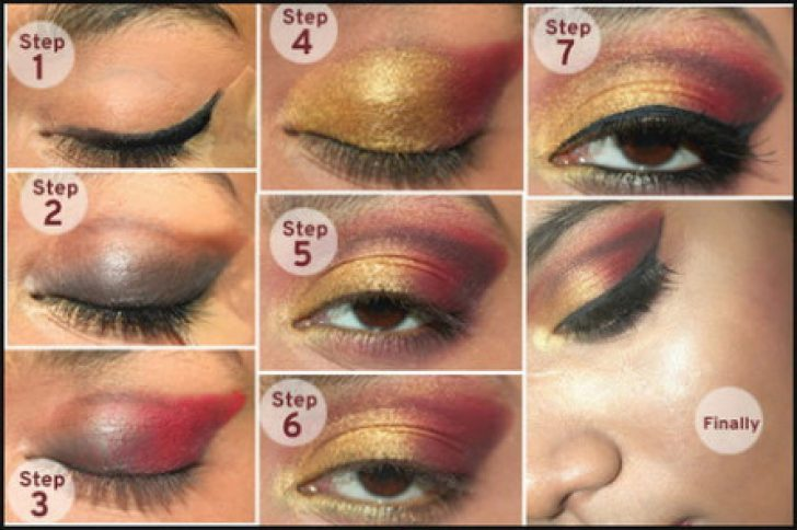Permalink to Indian Bridal Eye Makeup Step By Step