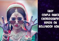 Easy couple dance choreography videos on bollywood songs ..