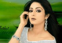 Evergreen Beauty Sridevi is celebrating her 45th Birthday ..