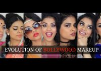 Evolution of Bollywood Makeup – YouTube – youtube bollywood makeup