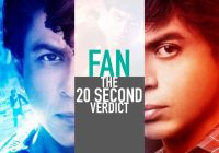 Fan Hit or Flop- Shah Rukh Khan Fan Movie Verdict – bollywood new movie hit or flop