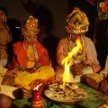 File:Fire rituals at a Hindu Wedding, Orissa India.jpg ..