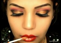 Glamorous Red & Gold Makeup: Bollywood/Bridal Makeup ..