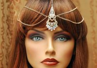 Gold Hair Chain Headpiece, Maang Tikka Headpiece ..