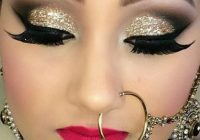 Gorgeous Bridal Eye Makeup – indian bridal eye makeup for small eyes