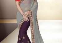 Grey Sarees | Saree Designs – bollywood grey saree