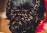 Hairstyles For Indian Wedding – 20 Showy Bridal Hairstyles – indian bridal bun hairstyles
