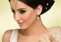 Hairstyles For Indian Wedding – 20 Showy Bridal Hairstyles – indian bridal updo hairstyles