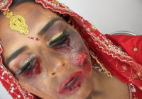 Halloween – Indian Bridal Makeup – Bollywood Zombie Bride ..