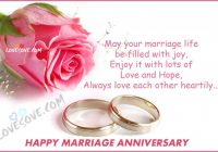 Happy Marriage Anniversary Hindi Status, Wishes Images ..
