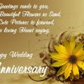Happy Wedding Anniversary Wishes Quotes Whats app Status ..