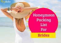 Honeymoon Packing List For Bride – All The Essentials ..